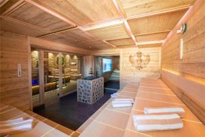 Sauna im Wellnessbereich Adler Bad Wörishofen