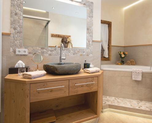 Exklusives Badezimmer im Hotel Adler Bad Wörishofen